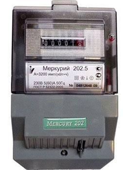 Меркурий 202.5 5-60А/220В кл.т.1,0