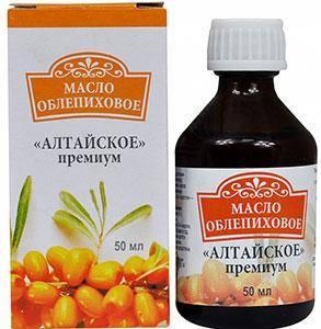 Облепиховое масло Алтайское премиум 50 мл