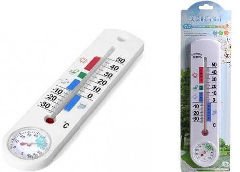 Термометр-гигрометр-спиртовой-G337