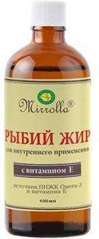 Мирролла с витамином Е 100 мл