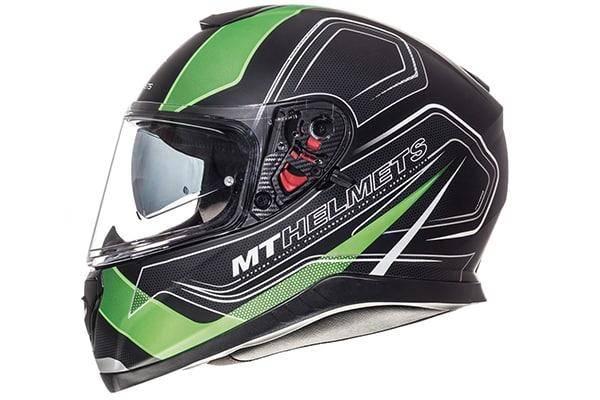 MT Thunder 3 SV Trace Matt Black Fluo Green