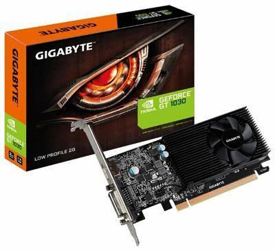 Gigabyte GeForce GT 1030 1252MHz PCI-E 3.0 2048MB 6008MHz 64 bit DVI HDMI HDCP Low Profile