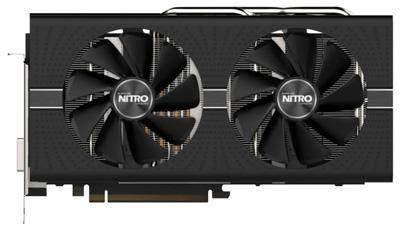 Sapphire Nitro + Radeon RX 570 1340MHz PCI-E 3.0 8192MB 7000MHz 256 bit DVI 2xHDMI HDCP