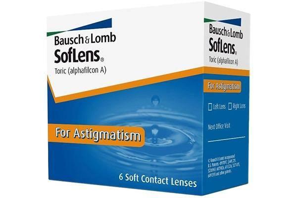 Bausch & Lomb SofLens Toric (6 линз)