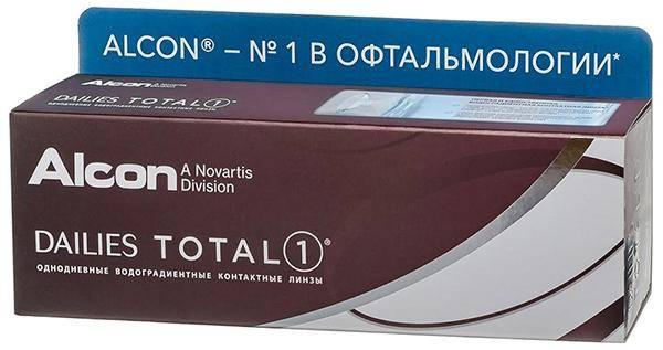 Dailies (Alcon) Total1 (30 линз)