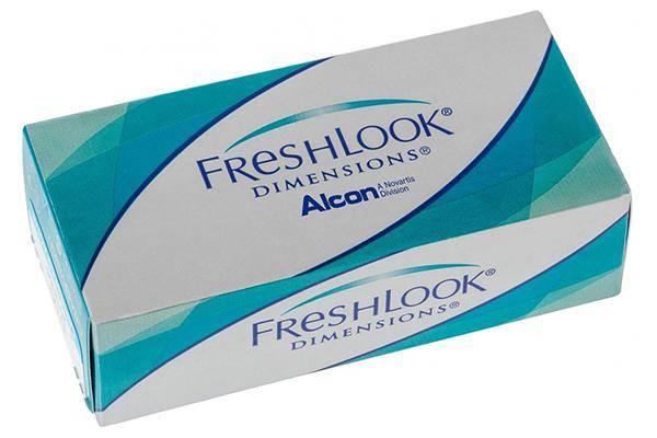 Fresh Look (Alcon) Dimensions (6 линз)