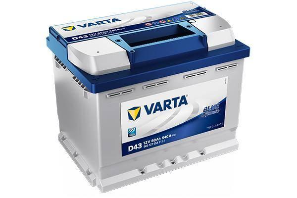 Varta Blue Dynamic D43 60 A/ч 540