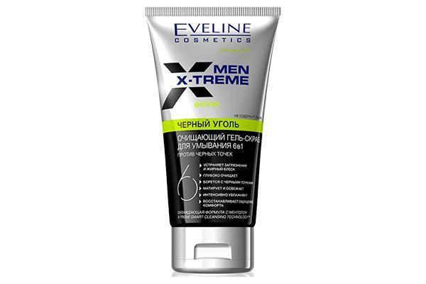 Eveline Cosmetics 6 в 1 Men X-Treme Черный уголь