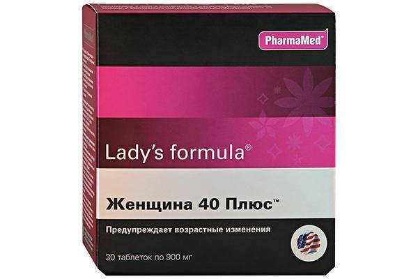 Ледис формула Женщина 40 плюс