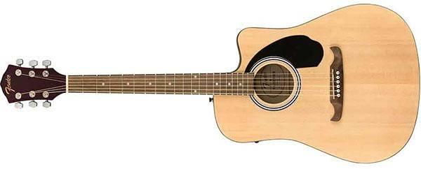 Fender FA-125CE Dread natural WN