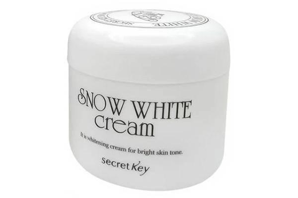 Secret Key Snow White Cream