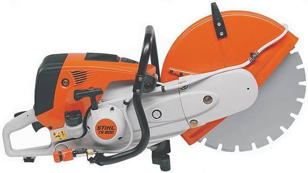 Stihl TS 800 5000 Вт 6.8 л.с. 400 мм