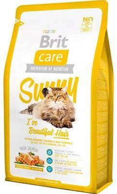 Brit Care Sunny с лососем для здоровья кожи и шерсти
