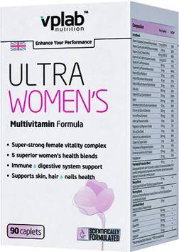 Vplab Ultra Women's Multivitamin Formula