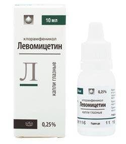 Левомицетин, Лекко