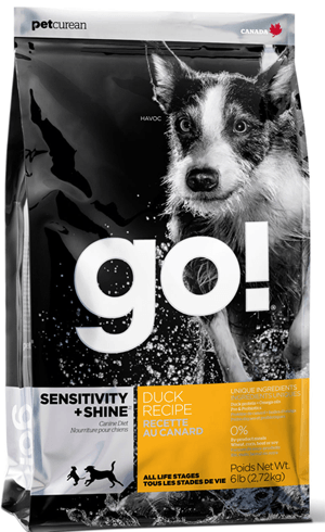 GO! Sensitivity + Shine Duck Dog Recipe лечебный