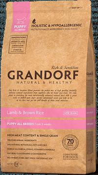 Grandorf Puppy All Breeds Lamb & Brown Rice ягненок и бурый рис