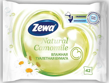 Zewa Natural Camomile