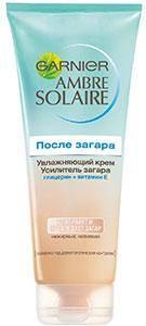 Garnier Ambre Solaire увлажняющий крем-усилитель загара
