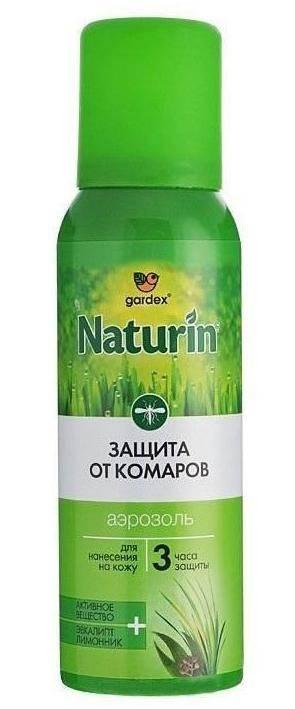 Аэрозоль-репеллент Gardex Naturin