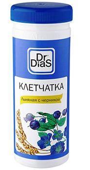 Dr.DiaS льняная с черникой 170 г