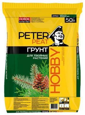 Peter Peat Hobby для хвойных растений 50 л