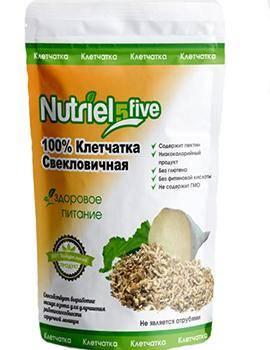 Свекловичная клетчатка Nutriel five, 150 г.