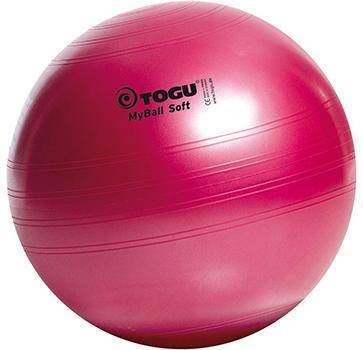 Togu MyBall Soft 65 cм красный
