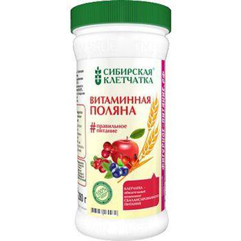 Витаминная поляна, Сибирская клетчатка, 280 г