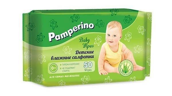 Pamperino с экстрактом алоэ вера
