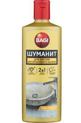 Шуманит для чистки интерьерного камня Bagi