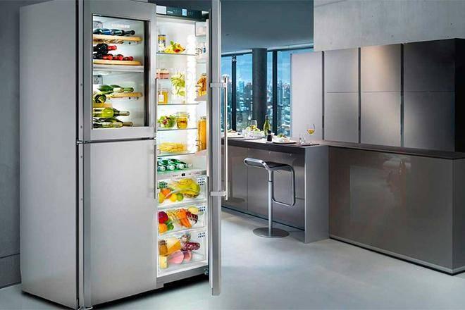 Лучшие двухдверные холодильники