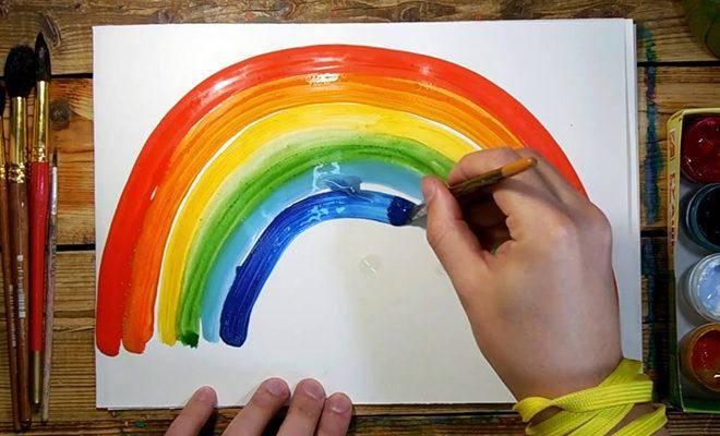 Лучшие детские краски