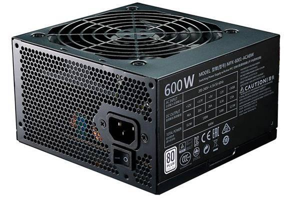 Cooler Master Master Watt Lite 230V 600W