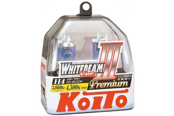 Koito H4 White Beam III