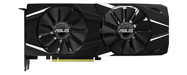 Asus GeForce RTX 2080 1515 MHz PCI-E 3.0 8192 MB 14000 MHz 256 bit 2xHDMI
