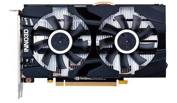 Inno 3D GeForce GTX 1660 Ti 1770 MHz PCI-E 3.0 6144 MB 12000 MHz 192 bit HDMI