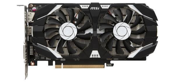 MSI GeForce GTX 1050 Ti 1341 MHz PCI-E 3.0 4096 MB 7008 MHz 128 bit DVI Display Port HDMI HDCP