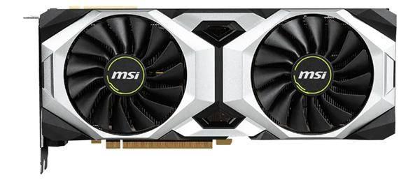 MSI GeForce RTX 2080 Ti 1350 MHz PCI-E 3.0 11264 MB 14000 MHz 352 bit 3xDisplayPort