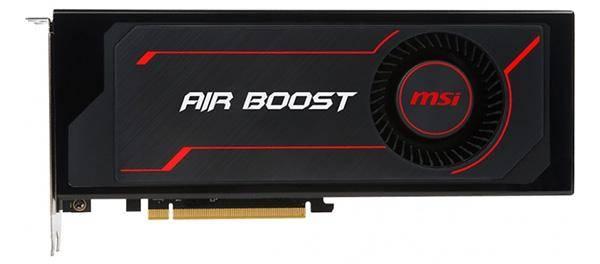 MSI Radeon RX Vega 56 1181MHz PCI-E 3.0 8192 MB 1600 MHz 2048 bit HDMI HDCP AirBoostOC