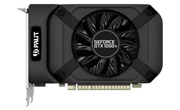 Palit GeForce GTX 1050 Ti 1290 MHz PCI-E 3.0 4096 MB 7000 MHz 128 bit DVI HDMI