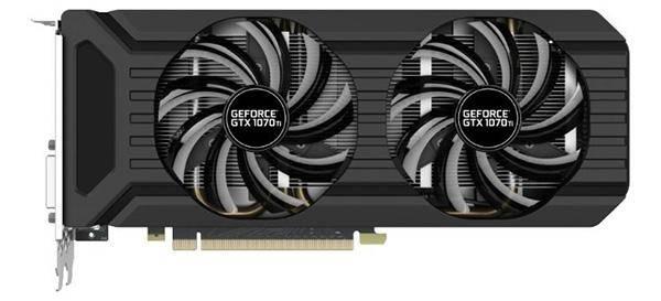 PNY GeForce GTX 1070 Ti 1607 Mhz PCI-E 3.0 8192 Mb 8000 Mhz 256 bit DVI HDMI HDCP