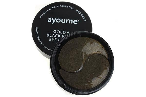 Ayoume Gold+Black Pearl Eye Patch