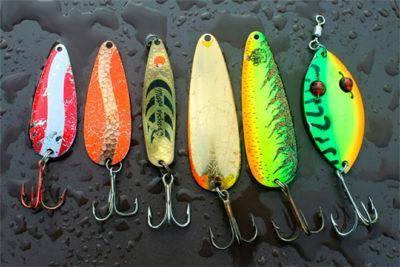 Лучшие рыболовные блесны
