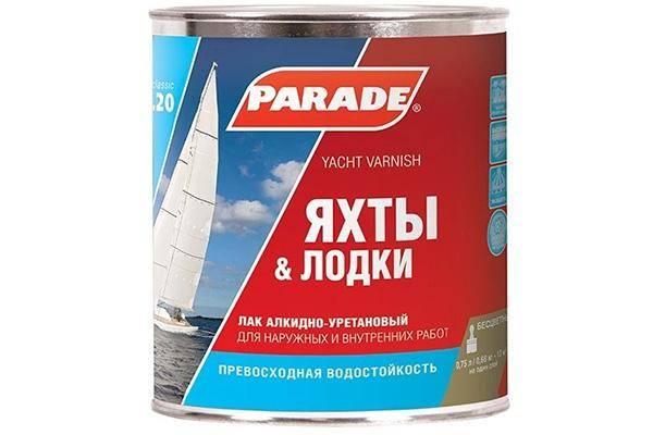 Parade L20 Яхты & Лодки матовый