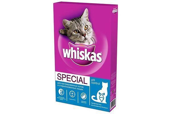 Whiskas для профилактики МКБ