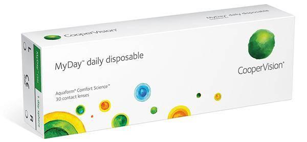 Cooper Vision MyDay daily disposable (30 линз)