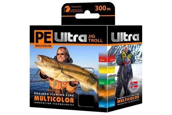 Pe Ultra Multicolor Jig Troll 0.40mm 300m
