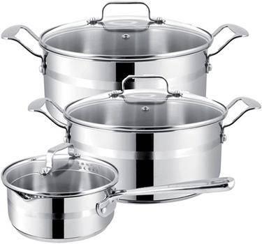 Выбор посуды из нержавеющей стали