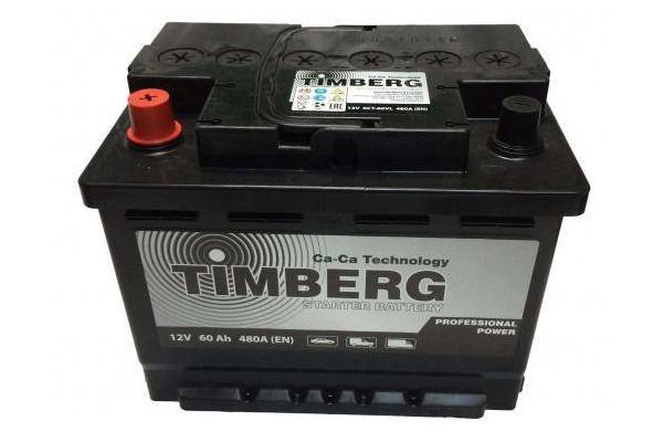 Timberg Professional Power 60 А/ч 480 А
